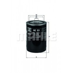 Eļļas filtrs WL7115