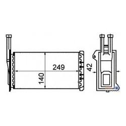 FD Sierra 82-87 radiators salona RA71761