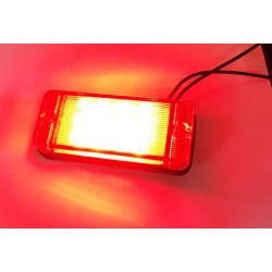 Papildlukturis miglas aizmugures 107x46x23 LED