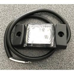 Gabarītlukturis universāls ar kronšteinu 73x33x17MM balts LED L,R