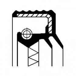 Diferencāļa vārpstas blīgredzens 50x65.2x10 CORTECO 12016928B, 020301189H