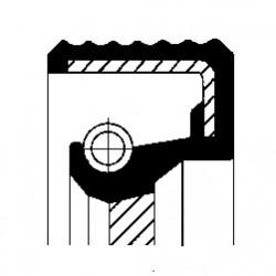 Kloķvārpstas blīvslēgs CORTECO 46085509B, 60x75x7mm, 505.110, 7700103945