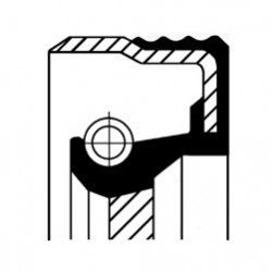 Vārpstas blīvgredzens, Automātiskā pārnesumkārba CORTECO 19036709B, 51x65x7