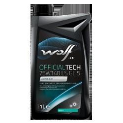 Transmisijas eļļas 75W140 LS API GL 5 WOLF 1L MIL-L-2105 D, WE0230701
