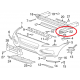 Jaguar F-Pace priekšējā bampera stiprinājums L, Lietots GX73-17b757-AB, GX7317b757AB