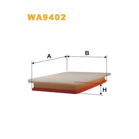 Gaisa filtrs WIX FILTERS WA9402, LX1825