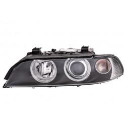 BMW E39 00-04 lukturis L D2S/H7/H21W/PY21W tumss, ar motorinu, ar spuldzem, bez balasta HELLA 63126912435
