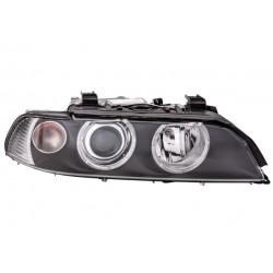 BMW E39 00-04 lukturis R D2S/H7/H21W/PY21W tumss, ar motorinu, ar spuldzem, bez balasta HELLA 63126912436