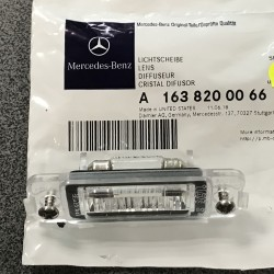 Mercedes ML-Class W163 01-05 Numurzīmes apg. lukturis A1638200066