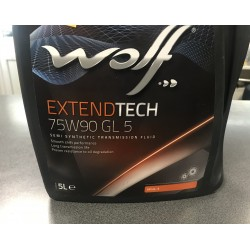 Transmisijas eļļa WOLF SAE 75W90 5L