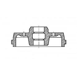 Bremžu trumulis METELLI 18-0213, 6U0501615A