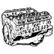 Motora daļas (50)